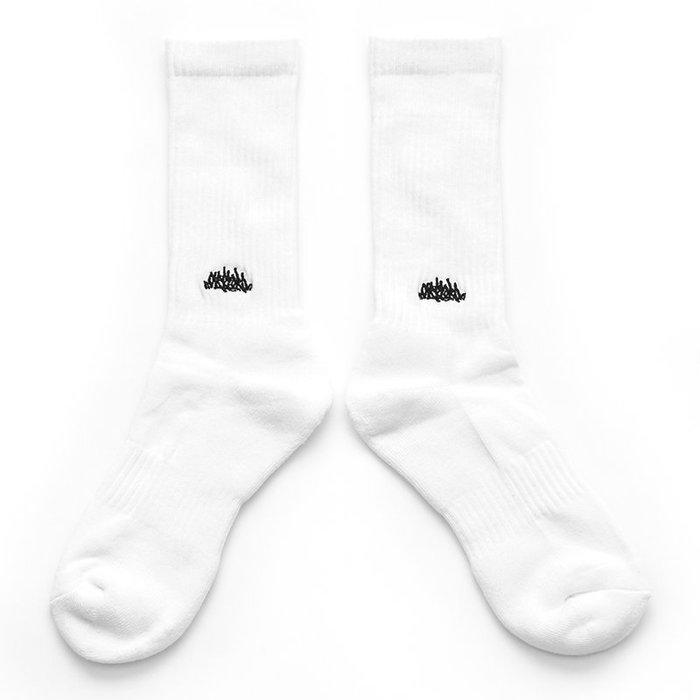 OVERLORD SKATEBOARDS TAGGING SOCKS 運動 中統襪