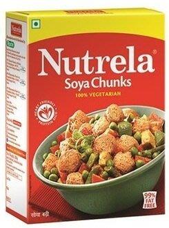 印度大豆蛋白素肉球 Nutrela Soya Chunks 200g