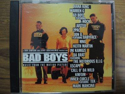 MWM◎【二手CD】蔓蒂-Bad Boys 絕地戰警2 電影原聲帶 奧版,無ifpi