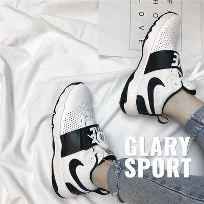 NIKE/耐克Team Hustle女子奧利奧黑白小VEER籃球運動鞋881941-100