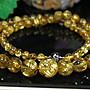 孟宸水晶 = L060 (100%天然粗版鈦晶圓珠項鍊...