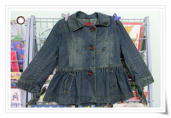 *【小pen衣櫃】....初秋小外套~~ 專櫃 RELEXE JEANS 俏麗牛仔外套