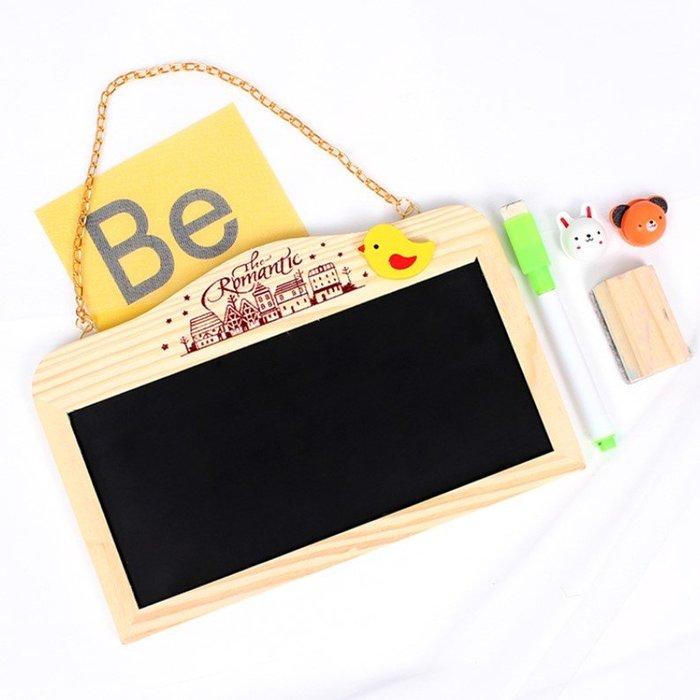 黑板/白板/雙面/掛式小黑板/寫字板/創意居家擺飾/店面愛用(2入)_☆優購好SoGood☆