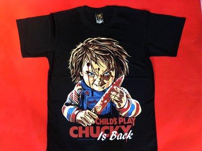 【小間搖滾】Chucky 鬼娃 恰吉☆進口Rock搖滾ㄒ恤 (S M L XL)