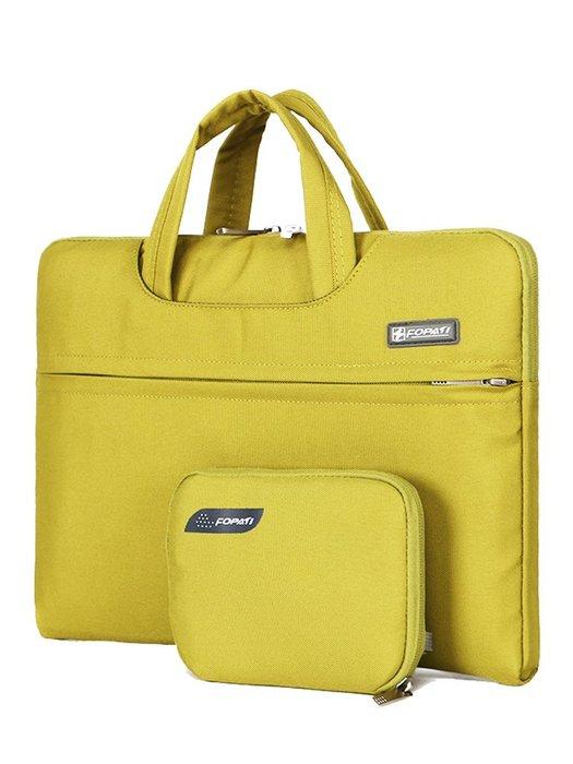 筆電包 側背包 手提包 保護囊 防水 蘋果戴爾小米華為男女手提筆記本電腦包15.6英寸13.3寸14寸內膽包