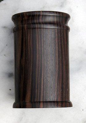 黑檀木筆筒