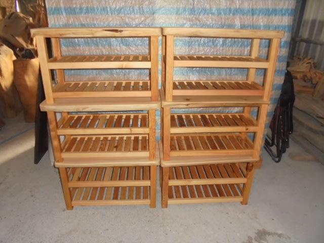 ~*檜木香社*~台灣檜木穿鞋椅~~可製裝飾.底座.椅子....此標一次6件含運2萬元