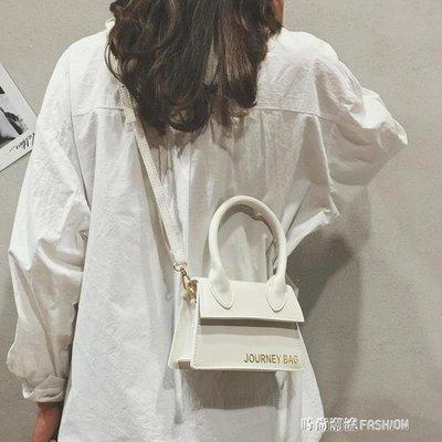 ZIHOPE 夏季INS超火包包女新款韓版百搭單肩斜挎字母時尚小方包ZI812