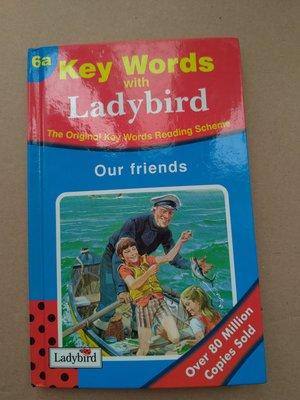 **菲比小舖**  [英文原版] Key Words with Ladybird  Our Friends 6A 書籍