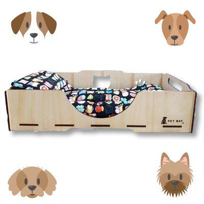 狗狗的好朋友~毛孩睡覺最佳選擇 KT002 KATIE凱蒂床寢具組(墊+枕) 嚴選布料 毛小孩 寵物床 寵物睡墊 睡窩