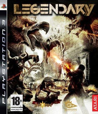 全新未拆 PS3 潘朵拉魔盒 Legendary -英文版-
