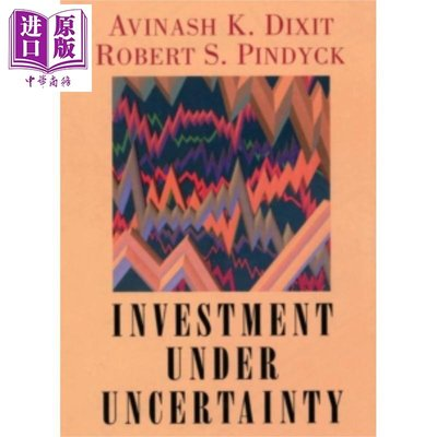 不確定條件下的投資 英文原版 Investment Under Uncertainty Robert Stephen P