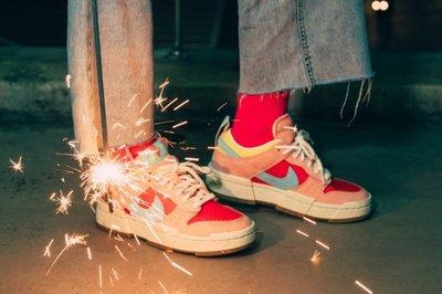 【S.M.P】Nike Dunk Low Disrupt Firecracker 鞭炮 DD8478-641