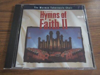 ◎MWM◎【二手CD】Hymns Of Faith II- The Mormon Tabernacle Choir