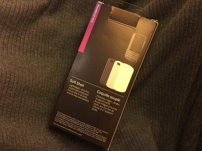 Blackberry 黑莓原廠 Q10 全新 果凍矽膠保護套