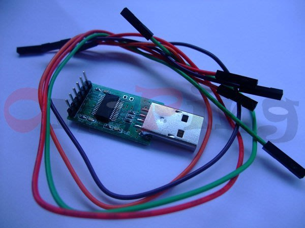 萬平科技-USB To TTL(3.3V),PL2303HXD 支援Win10,Android,電源/TX/RX指示燈