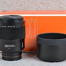 【品光攝影】Sony Carl Zeiss Sonnar T* 135mm F1.8 ZA  FJ#46765A