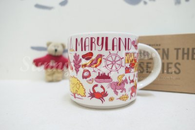 【Sunny Buy】◎現貨◎ 星巴克 STARBUCKS 馬里蘭 Maryland Been There城市杯14oz