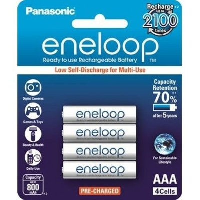 {MPower} Panasonic Sanyo eneloop 低放電 3A, AAA Rechargeable Battery 充電池 叉電 - 原裝行貨