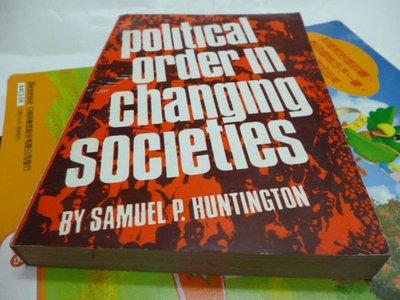 買滿500免運-- 崇倫=《《Political Order in Changing Societies》ISBN:0300011717│Baker
