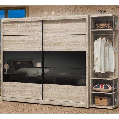 8號店鋪 森寶藝品傢俱 C-10品味生活 臥室 衣櫥系列102-45 倫恩8尺衣櫥