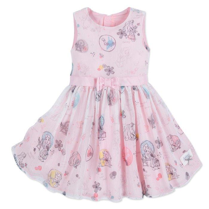 代購現貨 美國迪士尼動畫師系列極光 女孩連衣裙