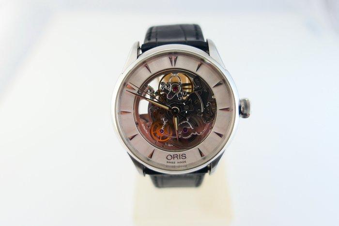 [吉宏精品交流中心]ORIS 豪利時 藝術家 40mm 簍空 皮帶 自動機械 男錶