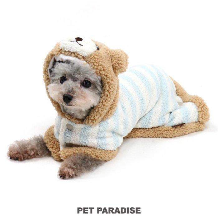 貝果貝果 日本 pet paradise 可愛小熊變身棉襖 / 遠紅外線 [D622]