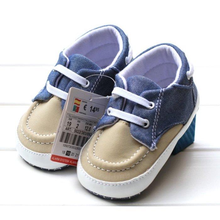 寶貝倉庫~時尚雙色休閒鞋~學步鞋~布底鞋~寶寶鞋~嬰兒鞋~童鞋~幼兒鞋~學走鞋~坐螃蟹車穿~彌月送禮~鬆緊帶設計