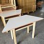 (MCF傢俱工廠)(含稅價)(大)木製梯形桌/ 補習...