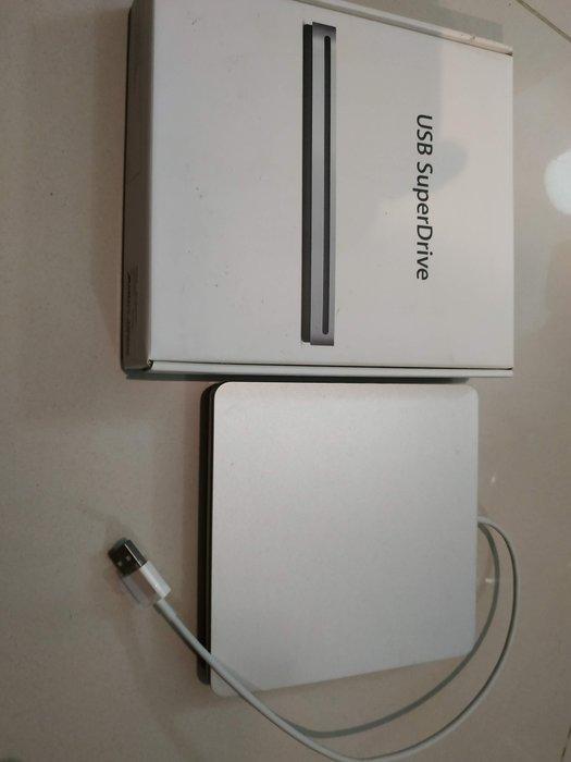 [二手出清真品] Apple 如新 SuperDrive 外接 光碟機 燒錄 macbook air MD564FE/A