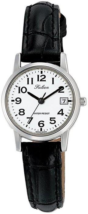 日本正版 CITIZEN 星辰 Q&Q D019-304 腕錶 女錶 女用 手錶 皮革錶帶 日本代購