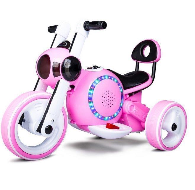 【優上精品】超酷 孩子王兒童電動車摩托車三輪車可坐人寶寶童車女電瓶車玩具車男(Z-P3154)