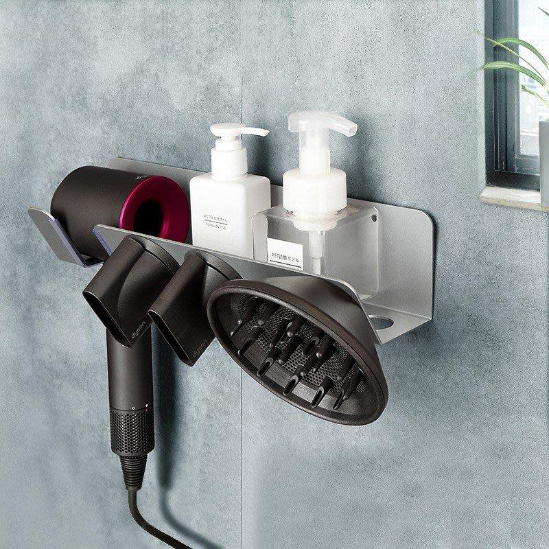 Dyson 戴森吹風機 支架 掛架 收納架 浴室置物架 吹風機架 不銹鋼掛架 壁掛架 免打孔 可釘可粘