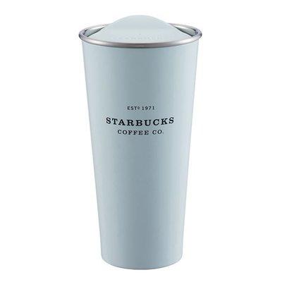星巴克 粉藍色 不鏽鋼Togo 杯 限量款19週年 韓國同款 正品 保溫杯 隨身杯 粉藍嫩配色 數量有限 超取 面交