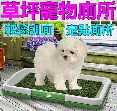 三層帶草坪寵物廁所【防潑濺】平板室內狗狗便盆 訓練 網格狗廁所尿盆大小號馬桶 泰迪小型幼犬寵物用品可參考《番屋》