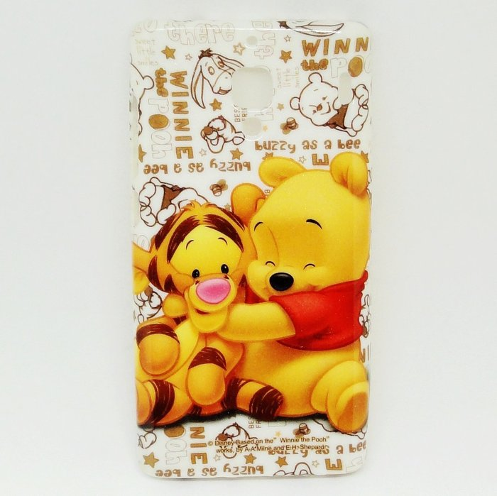 【UNIPRO】小米 紅米機 迪士尼 小熊維尼與跳跳虎 TPU 手機殼 軟殼 保護套