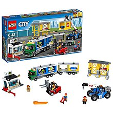 100% NEW LEGO CIty 60169 Cargo Terminal City (有2盒存貨)