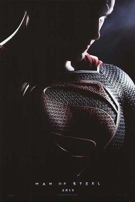 超人:鋼鐵英雄 (Man of Steel)- Henry Cavill - 美國原版雙面電影海報 (2013年預告版)
