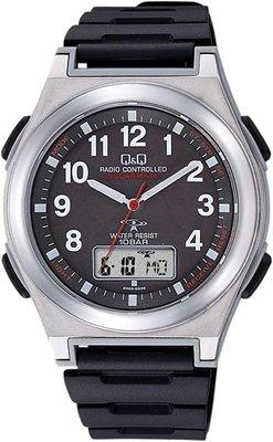 日本正版 CITIZEN 星辰 Q&Q MD12-305 男錶 手錶 電波錶 太陽能充電 日本代購