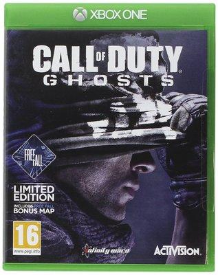 全新未拆 XBOX ONE 決勝時刻:魅影(附地圖特典) -英文版- COD Ghosts Call of Duty