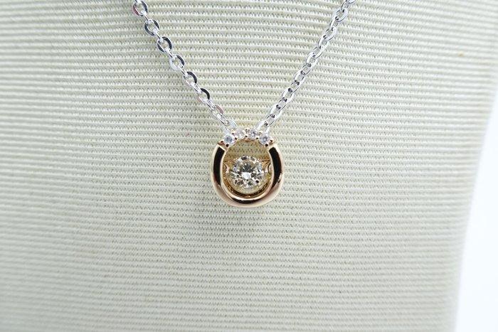 %玉承珠寶%天然鑽石靈動墜子B099(珠寶設計訂做.珠寶代客保養.黃金買賣)