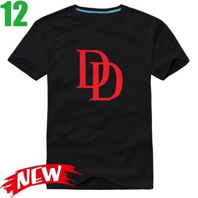 【夜魔俠 超膽俠 Daredevil】短袖超級英雄T恤(共6種顏色可供選購) 任選4件以上每件400元免運費!【賣場三】