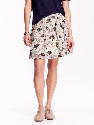 美國Old Navy 女裝Pleated Chiffon Mini S號超秀氣雪紡紗迷你裙含運在台現貨