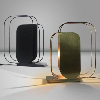 【58街燈飾-新竹館】「重疊線條台燈」檯燈,美術燈。複刻版。GL-166