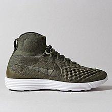 D-BOX Nike Lunar Magista II Flyknit  墨綠色 飛線 高筒 復古 運動鞋 男鞋