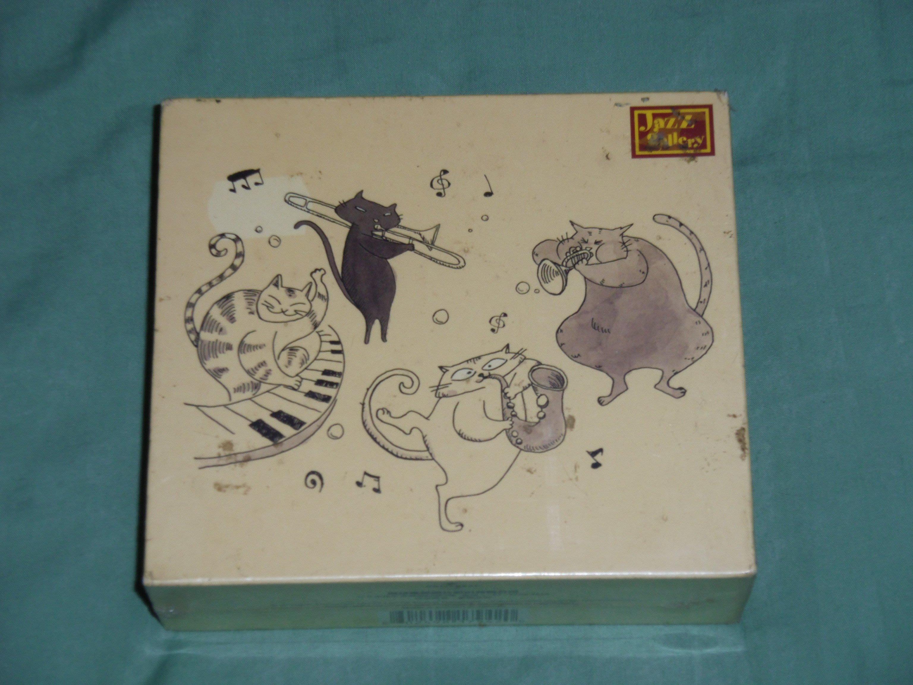 全新未拆-爵士畫廊大師精裝限量版4CD-路易阿姆斯壯.比莉哈樂黛.莎拉沃恩.艾拉費茲潔拉超過4個小時的錄音饗宴