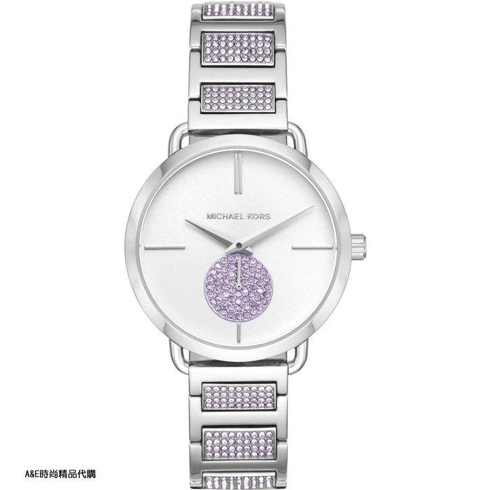 A&E精品代購Michael Kors腕錶 MK手錶 MK3842 美式優雅小秒針晶鑽腕錶流行手錶 腕錶 美國代購
