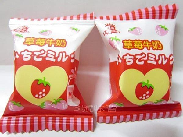 3 號味蕾 量販團購網~友僑 草莓牛奶軟飴3000公克量販價360元...... 喜糖.派對.婚慶