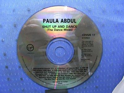 [無殼光碟]IR Paula Abdul - Shut Up And Dance 無ifpi  MADE IN UK